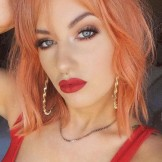 Gorgeous Sunset Orange Hair Color Ideas for Every Woman in 2021