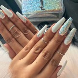 Lovely Long Nail Art Designs to Wear in this Year for Cute Hands