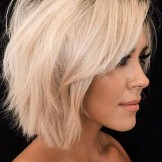 Best Short Bob Haircuts with Blonde Shades for Women 2019