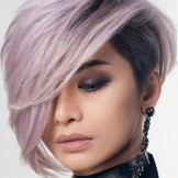 Best Undercut Short Haircuts with Side Bangs for Women in 2021