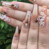 Gorgeous Long Acrylicn Nails Designs and Images to Show Off in 2021