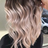 Updated Balayage Highlights with Dark Roots to Show Off in 2021