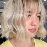 Best Short Blonde Haircuts with Bangs for Women in 2021