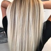 Awesome Sleek Straight Hairstyles with Balayage Highlights in 2021
