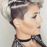 Best Short Pixie Haircuts with Side Braids for Women 2020